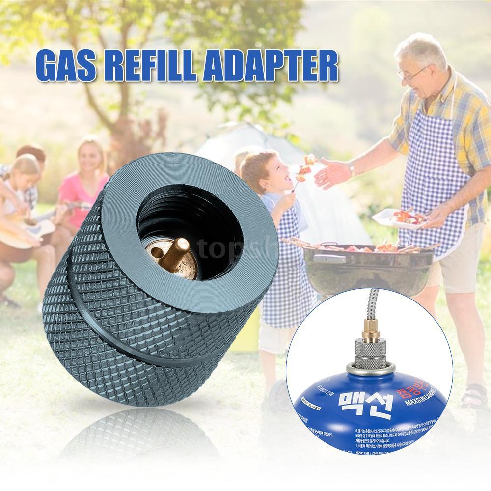 Tsm★Cartridge Gas Refill Adapter Nozzle Bottle Type Butane Gas Cartridge / Canis