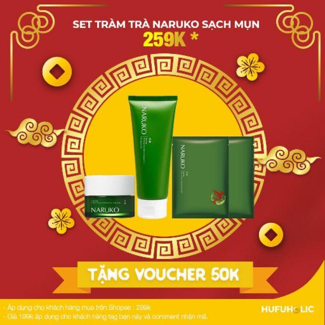 Naruko - Set tràm trà trị mụn 4 sản phẩm fullsize và mini sữa rửa mặt, mặt nạ miếng , mask ngủ - 2787539 , 845814814 , 322_845814814 , 382000 , Naruko-Set-tram-tra-tri-mun-4-san-pham-fullsize-va-mini-sua-rua-mat-mat-na-mieng-mask-ngu-322_845814814 , shopee.vn , Naruko - Set tràm trà trị mụn 4 sản phẩm fullsize và mini sữa rửa mặt, mặt nạ miếng ,