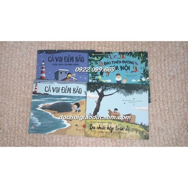 Cá voi đêm bão - Bộ 4 cuốn