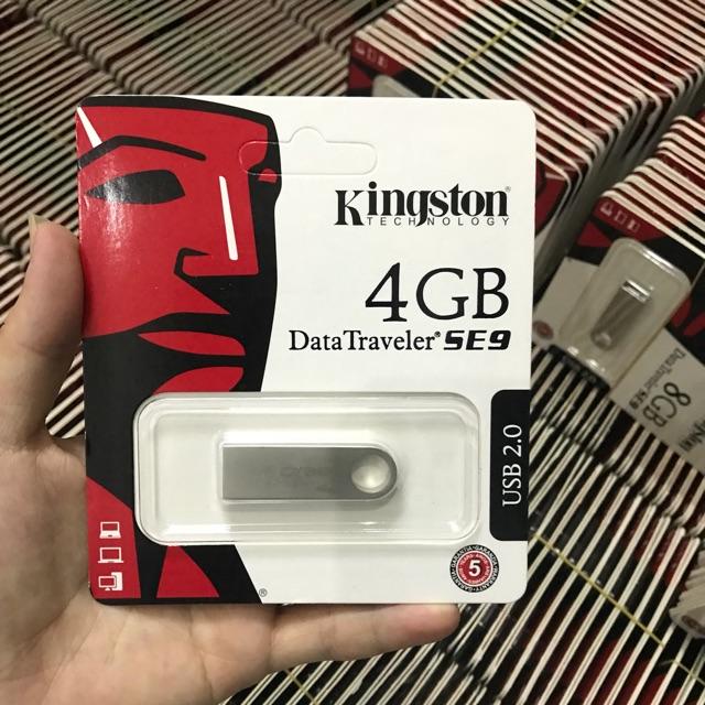Usb kingston 4GB vỏ kim loại ( thiếu)