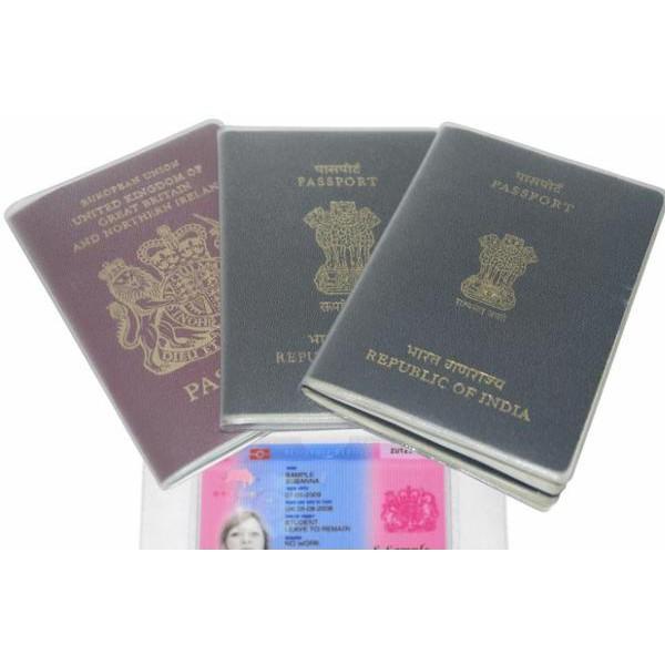 Vỏ bọc đựng hộ chiếu Bao Passport PVC trong F222SP1