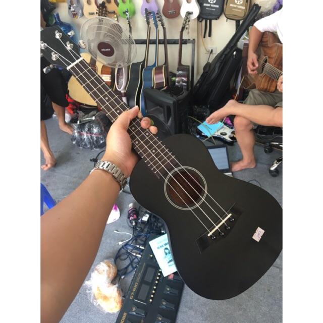 ukulele concert đen