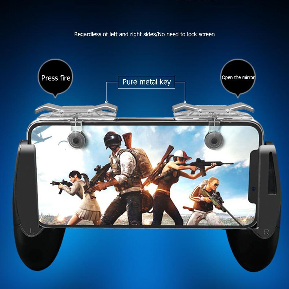 Set 2 nút bấm gắn rời giúp hỗ trợ chơi game bắn súng trên điện thoại thông minh