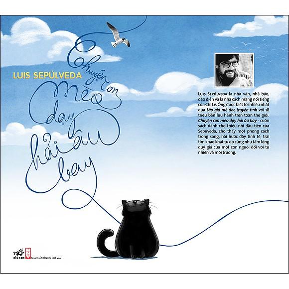 (Sách Thật) Chuyện Con Mèo Dạy Hải Âu Bay - Luis Sepúlveda