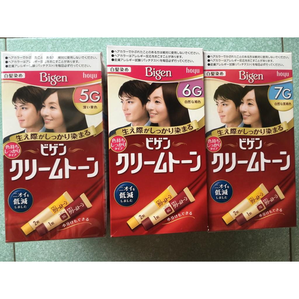 Thuốc nhuộm tóc phủ bạc Bigen Nhật
