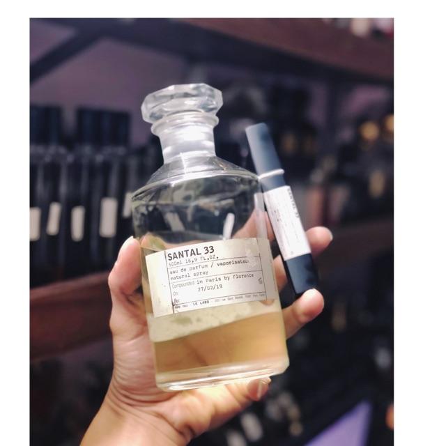 [Mẫu thử] nước hoa la vaabo santal 33 dạng xịt 10ml