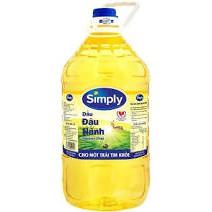 dầu ăn simply 5 lít