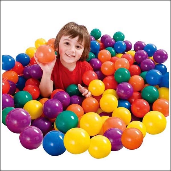 100 quả bóng nhựa cho bé yêu size to 7,5cm