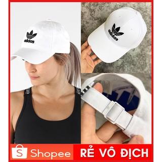 ⚡️[ SALE GIÁ GỐC ] Mũ / Nón thể thao Adidas Trefoil Baseball Cap – White FJ2544   HÀNG XUẤT XỊN / Ảnh Thật / GIÁ RẺ NHẤT