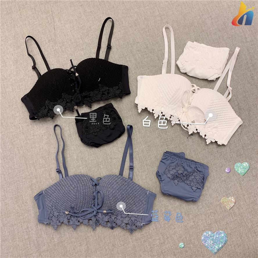 Female summer new suit high waist sexy underwear thickening no steel ring bra gathered hanging neck beauty back strap br - 15031324 , 2796773361 , 322_2796773361 , 236300 , Female-summer-new-suit-high-waist-sexy-underwear-thickening-no-steel-ring-bra-gathered-hanging-neck-beauty-back-strap-br-322_2796773361 , shopee.vn , Female summer new suit high waist sexy underwear t