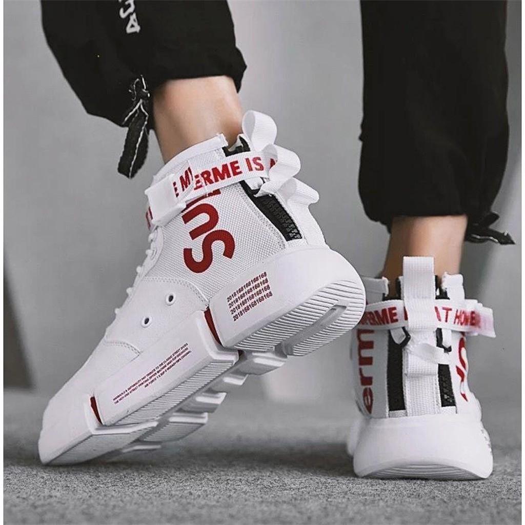 Giày Thể Thao Nam Tăng Chiều Cao Thời Trang Phong Cách Trẻ Trung - G11