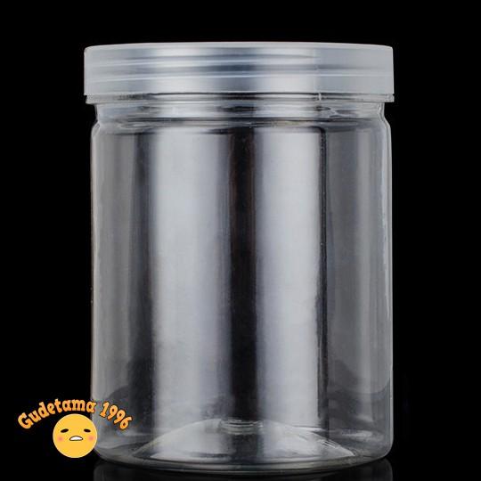 Hũ đựng slime 120 ml nắp trong, hộp đựng slime nắp trong