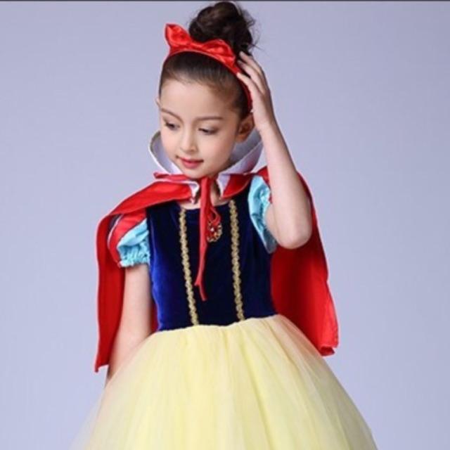 Set váy bạch tuyết cho bé gái