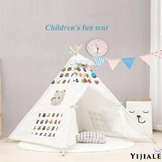 YJ★New Portable Children Playhouse Sleeping Dome Indian Teepee Tent Play House Gift