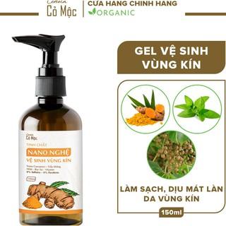 Dung dịch vệ sinh phụ nữ Cenota cỏ mộc 150ml, dung dịch vệ sinh phụ nữ nano nghệ thumbnail
