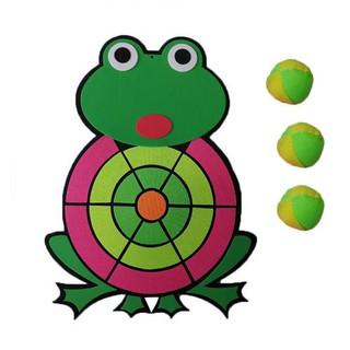 Kids Dart Board Game – 1 Fabric DartBoard & 3 Balls Soft Darts