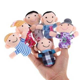  Family finger – Bộ rối ngón tay gia đình 