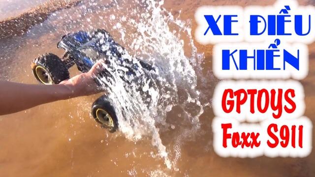 [Nhập mã TOYMAY15 giảm 15K] Xe điều khiển S911 size to chống nước 50km/h