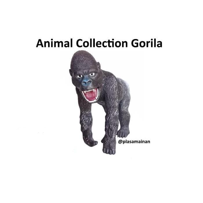 Mô hình Gorila động vật màu đen chất lượng cao