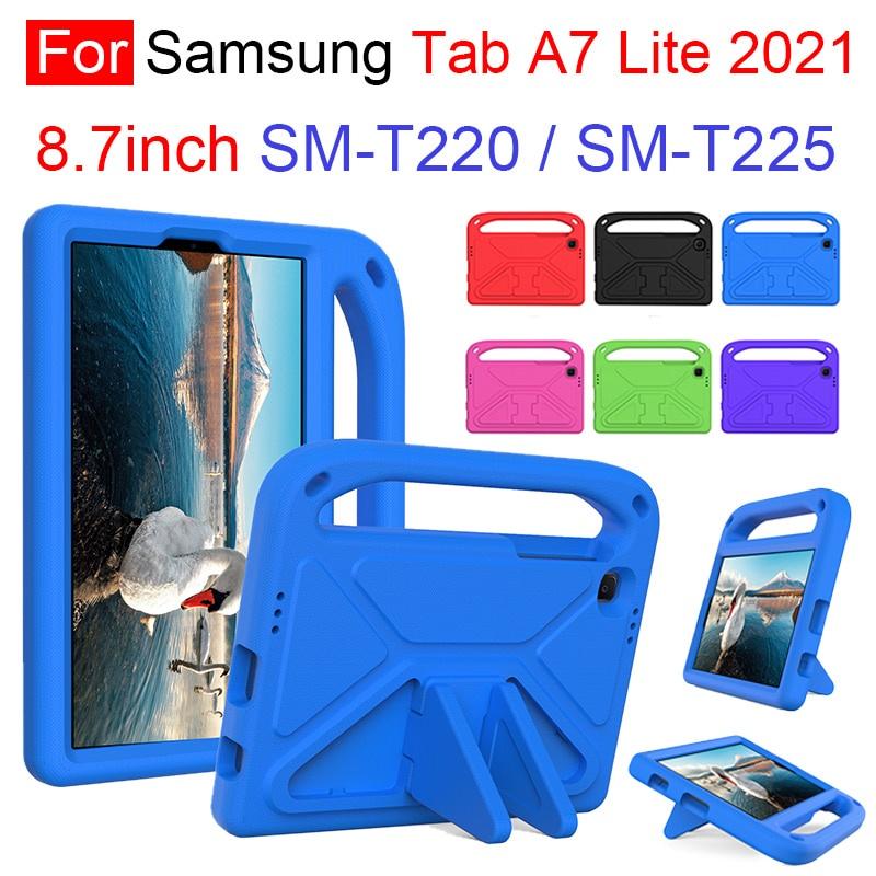 Ốp Máy Tính Bảng Eva Chống Sốc Có Giá Đỡ An Toàn Cho Bé Samsung Galaxy Tab A7 Lite 2021 8.7inch Sm T220 T225