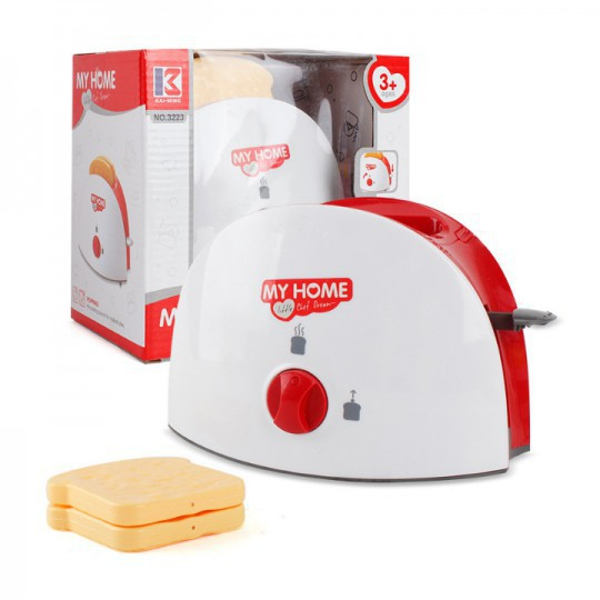 [HOT] Máy Nướng Bánh Mì Đồ Chơi Cao Cấp Cho Bé