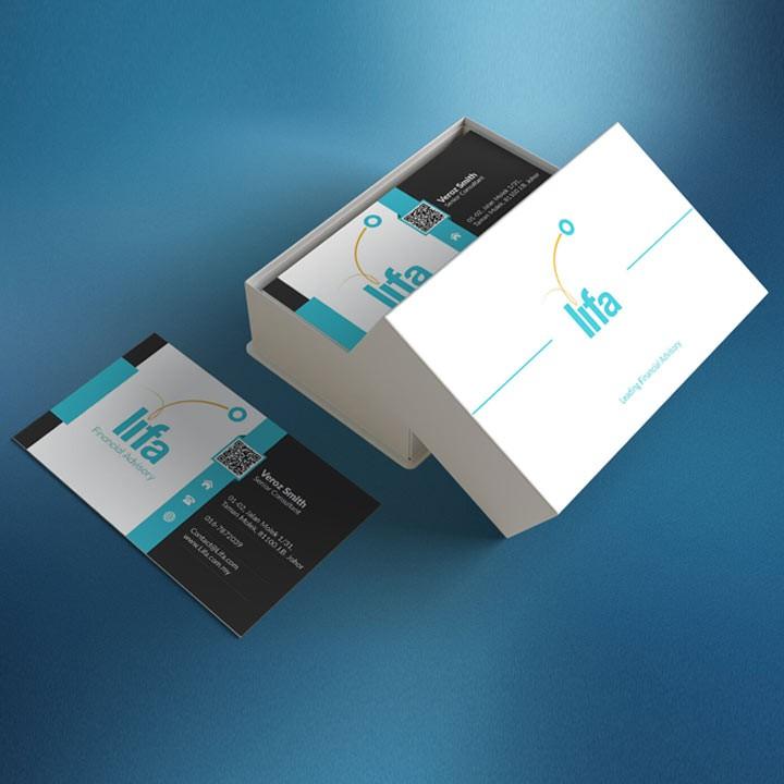 Danh thiếp giấy C300 - In nhanh namecard