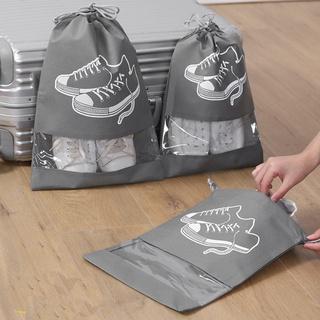 Túi Đựng Giày Dép - Bọc Chống Nước Cho Giày Dép Tiện Lợi Khi đi thể thao, Có Dây Rút Loại To Hàng Cao Cấp TGD2 thumbnail