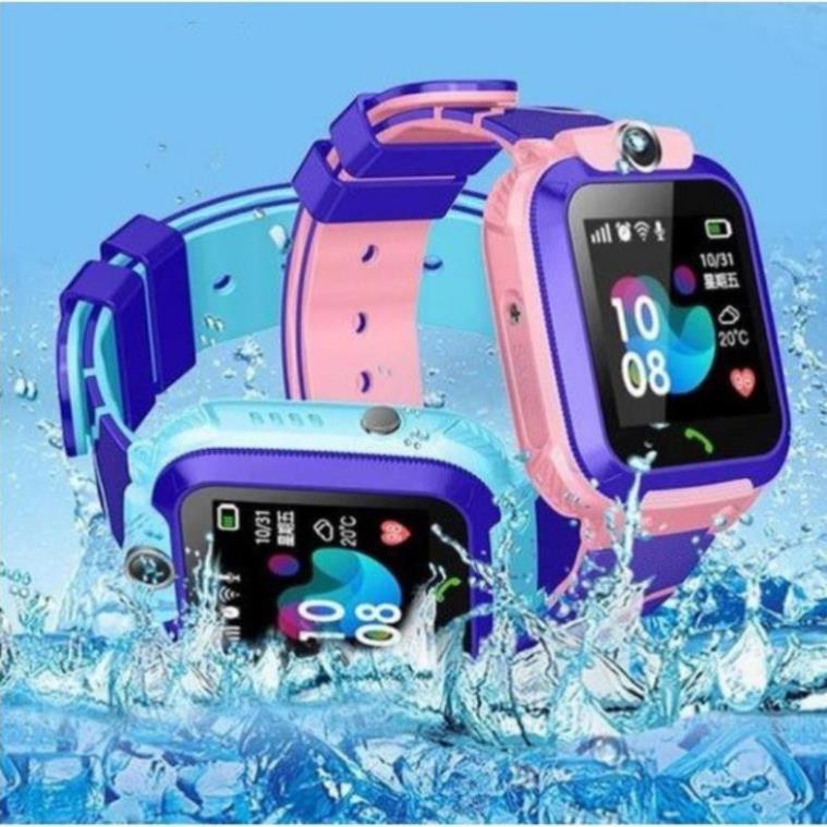 Đồng hồ thông minh, đồng hồ định vị GPS chống nước - Q12 Smart Watch [vthm9]