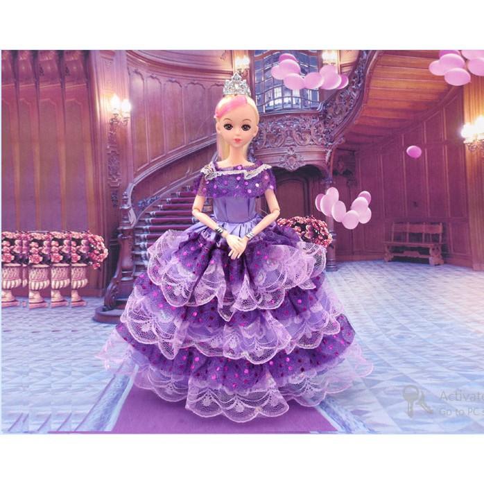 Bộ đồ chơi búp bê công chúa dễ thương - Hàng nhập khẩu