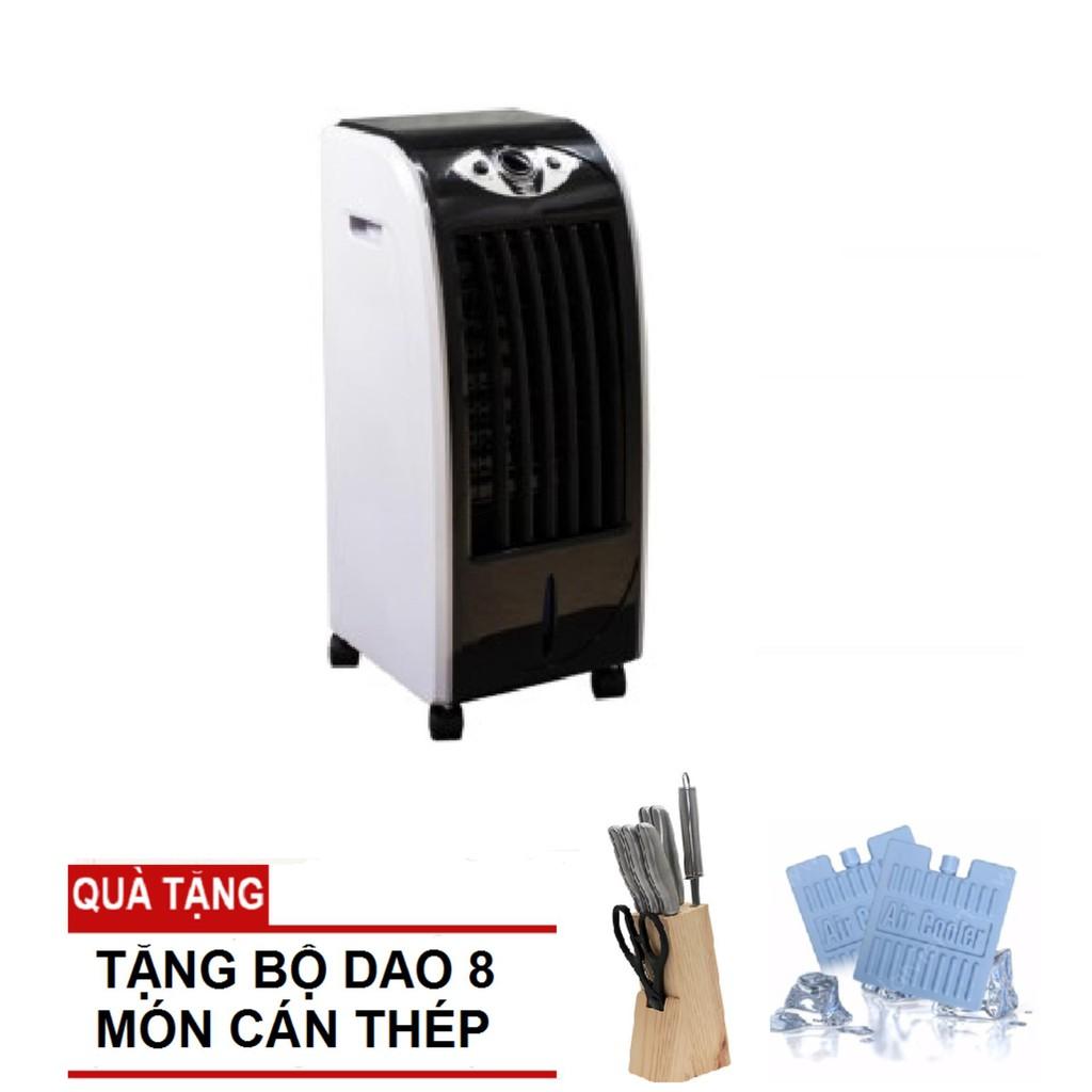 Quạt làm lạnh không khí Magic A48 + Tặng kèm bộ dao 8 món cán thép