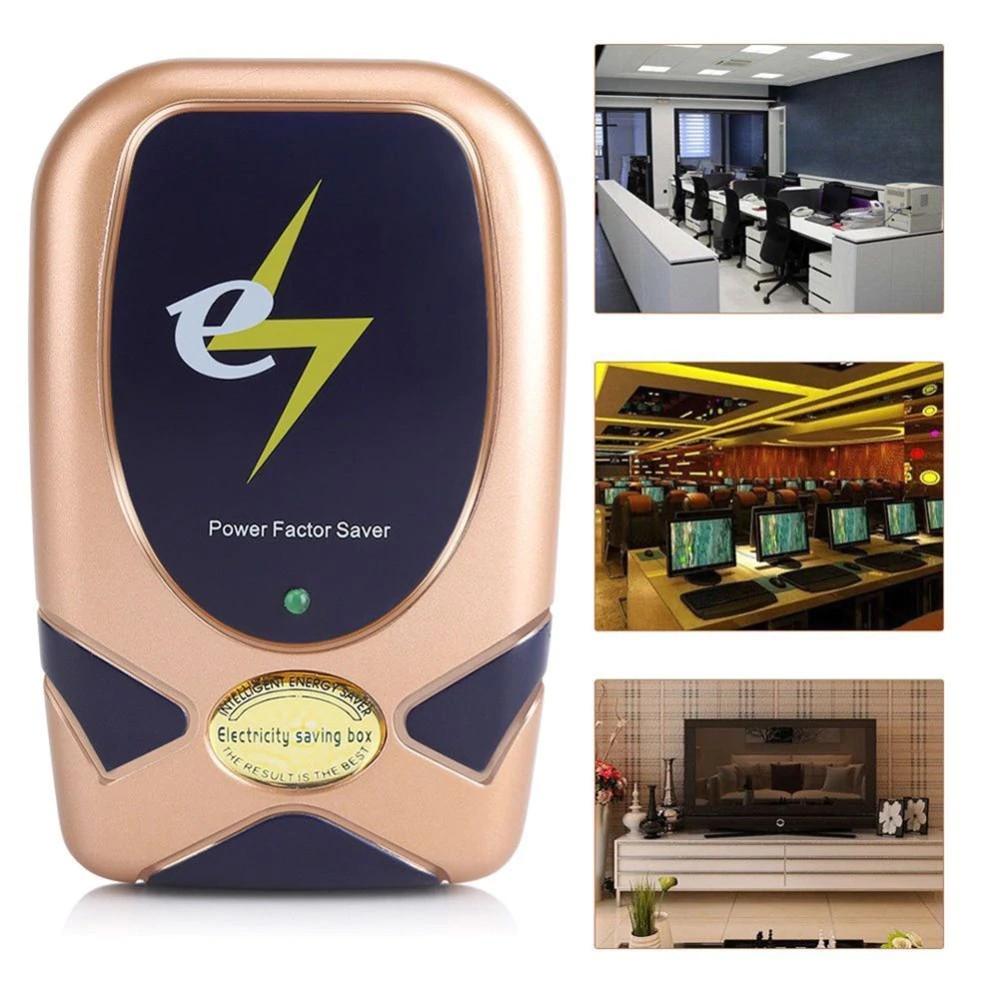 Power Factor Saver Home Electricity Saving Box bill reducer Smart Money