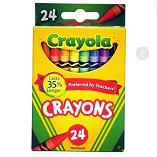 Bút sáp màu Crayola 24 màu