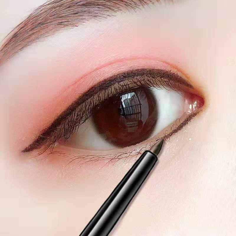 【HOT】伪素颜眼线胶笔防水不晕染棕色内眼线笔