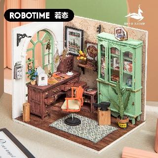 Mô hình nhà búp bê bằng gỗ (Tặng dụng cụ + keo) – Mô hình lắp ráp Robotime DGM 007