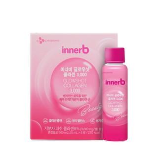 """Hộp 6 chai nước uống Collagen Vitamin C sáng da InnerB Glowshot (50mlx6) giá chỉ còn <strong class=""""price"""">17.700.000.000đ</strong>"""
