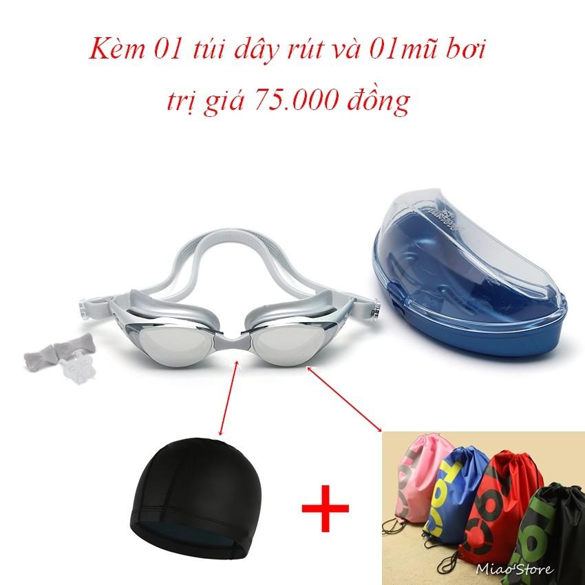Kính bơi Shenyu tráng bạc kèm mũ bơi và túi đeo vai dây rút tiện lợi - 2957240 , 192766481 , 322_192766481 , 188000 , Kinh-boi-Shenyu-trang-bac-kem-mu-boi-va-tui-deo-vai-day-rut-tien-loi-322_192766481 , shopee.vn , Kính bơi Shenyu tráng bạc kèm mũ bơi và túi đeo vai dây rút tiện lợi
