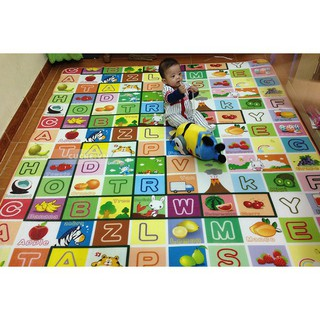 ( SALE ) Thảm chơi 2 mặt cho bé Maboshi 1m8 x 2m