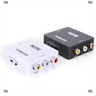 Bộ Chuyển Đổi Hdmi Sang Rca Av Cvbs Hd 1080p Mini Hdmi2av thumbnail