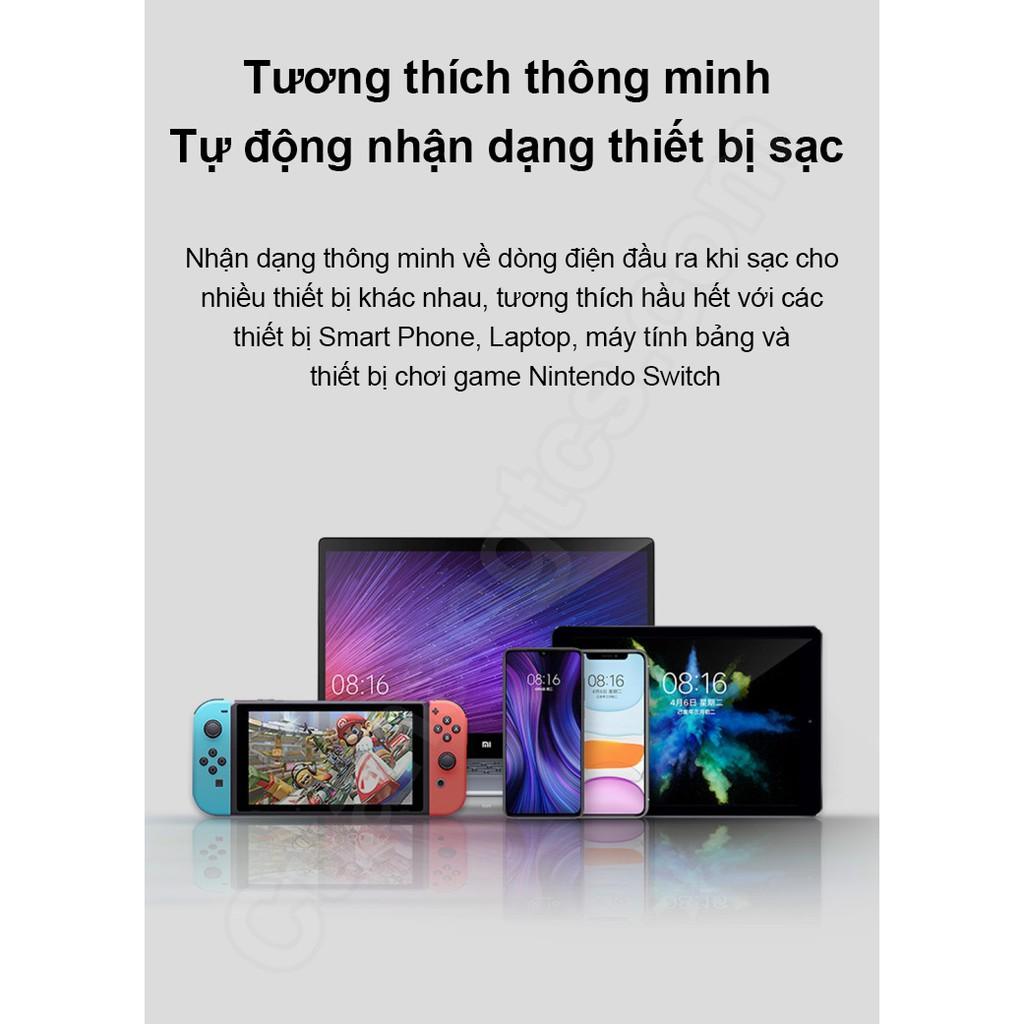 [Mã 267ELSALE hoàn 7% đơn 300K] Sạc Xiaomi GaN 65W Type-C AD65G Cốc sạc nhanh 65w Xiaomi