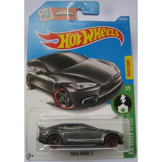 Xe mô hình Hot Wheels Tesla Model S DHX79
