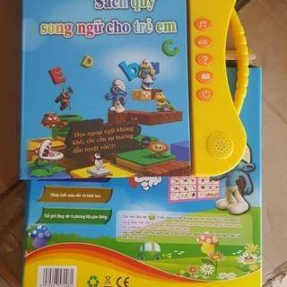Sách điện tử song ngữ cho bé. Chát để xem video thật