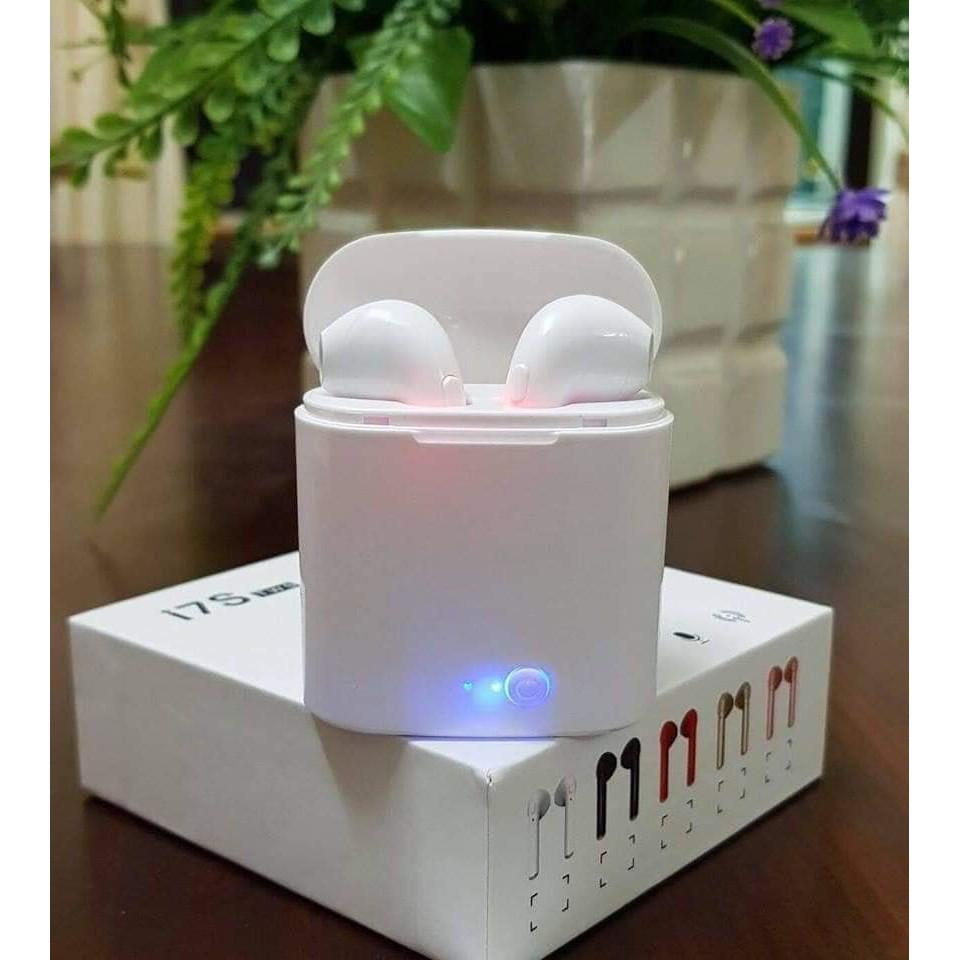 Hàng Loại 1_ Tai nghe Bluetooth chính hãng I7S hỗ trợ sạc không dây _ Giá Bán Sỉ Lẻ