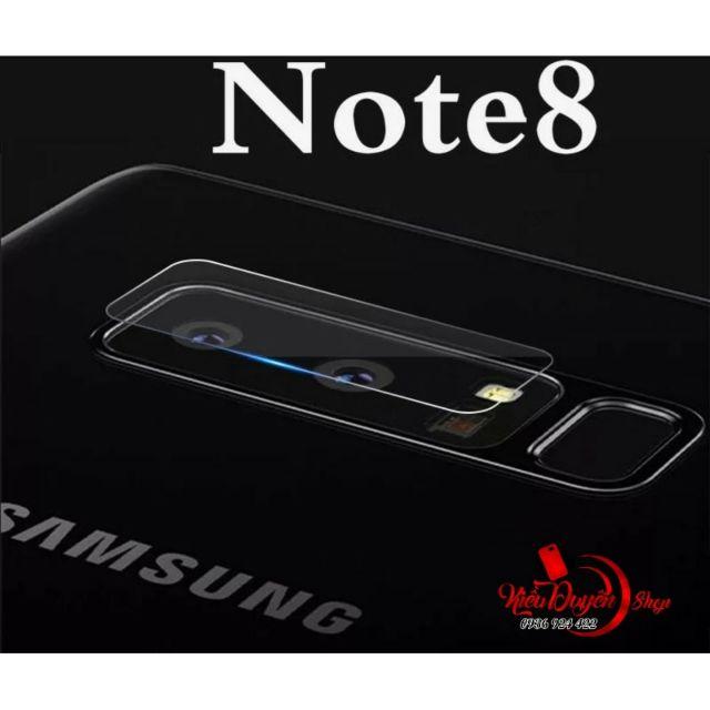 Dán cường lực Camera Samsung Galaxy Note 8