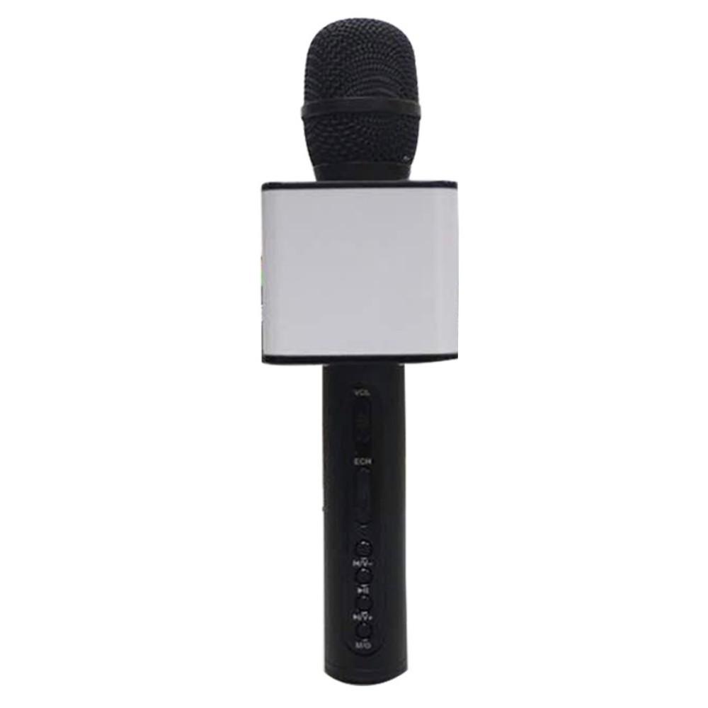 Mic hát karaoke Bluetooth SD-08 3in1 (Đen) Kim Nhung