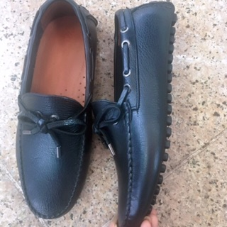 Giày lười da bò tết dây #giaynamdabo100%
