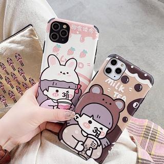 Ốp Điện Thoại Họa Tiết Hoạt Hình Dễ Thương Cho Iphone 11 Xs Max / Xr