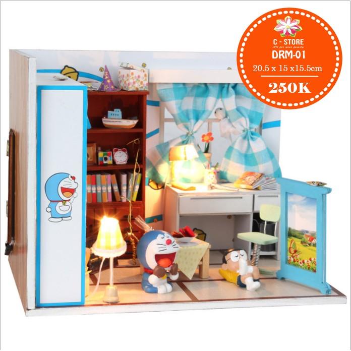 Bộ lắp ghép phòng Nobita có cánh cửa thần kỳ