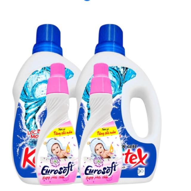 2 chai nước xả vải baby Eurosoft 420ml và 2 chai nước giặt trắng sáng tuyệt vời Kolortex 1L - 2566604 , 448512857 , 322_448512857 , 205000 , 2-chai-nuoc-xa-vai-baby-Eurosoft-420ml-va-2-chai-nuoc-giat-trang-sang-tuyet-voi-Kolortex-1L-322_448512857 , shopee.vn , 2 chai nước xả vải baby Eurosoft 420ml và 2 chai nước giặt trắng sáng tuyệt vời Kol