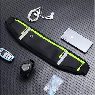 Túi thể thao thắt lưng, túi chạy bộ đeo túi mang điện thoai tập gym chống thấm