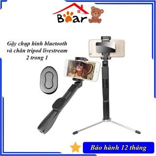 Tripod bluetooth 2 in 1 Yunteng C9, Gậy selfie dài 1,2m, 3 chân inox cứng cáp, Chụp hình chưa bao giờ dễ dàng đến thế